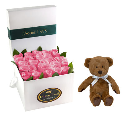 Wedding Gifts in Dubai-Pure angels & Roses & Teddy Bear