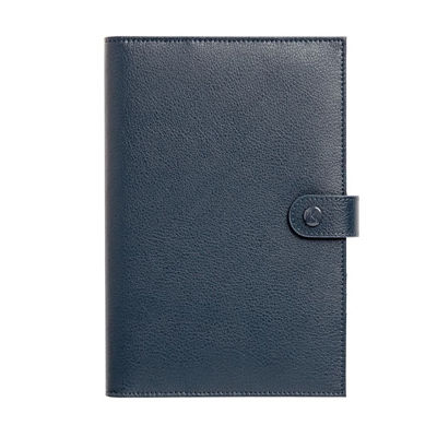 Personalized Gifts in Dubai and all over UAE - Notebook Leather Blue