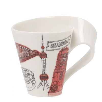 Personalized Gifts in Dubai and all over UAE - Mug Villeroy & Boch Cities of the World Shanghai