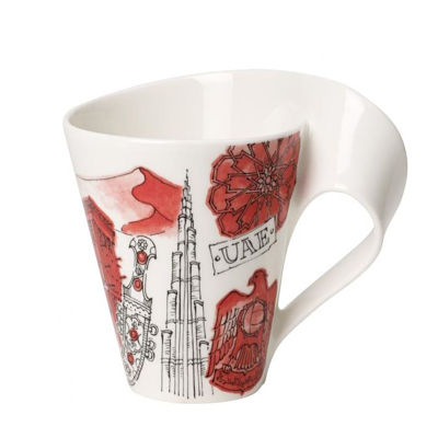 Personalized Gifts in Dubai and all over UAE - Mug Villeroy & Boch Cities of the World Dubai