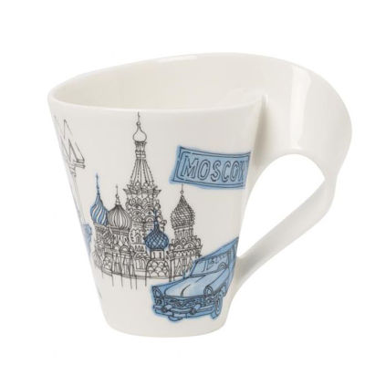 Personalized Gifts in Dubai and all over UAE - Mug Villeroy & Boch Cities of the World Moscow