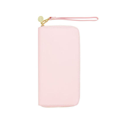 Personalized Gifts in Dubai and all over UAE - Travel Wallet Leather Pink