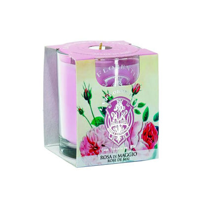 Personalized Gifts in Dubai and all over UAE - Candle Rose of May La Florentina