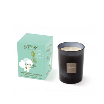 Personalized Gifts in Dubai and all over UAE - Candle ORCHIDEE BLANCHE Esteban