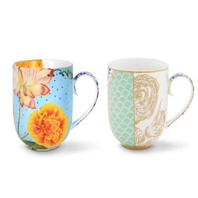 Personalized Gifts in Dubai and all over UAE - MUG ROYAL MULTICOLOURED & WHITE MUG