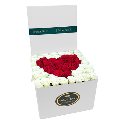 Flower Box with Heart