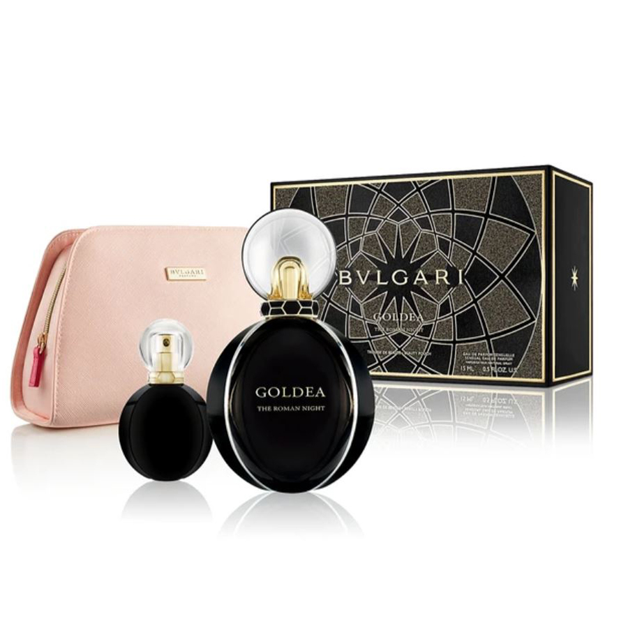 Perfume Gift Sets-BVLGARI Goldea The Roman Night