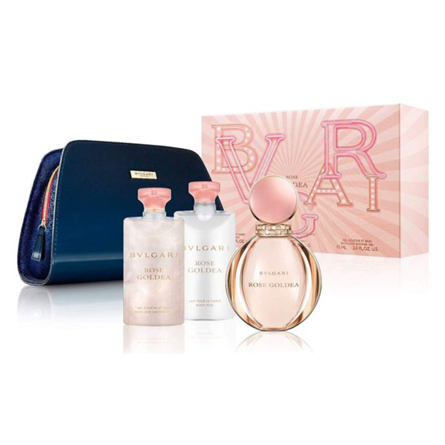 Perfume Gift Sets-BVLGARI Rose Goldea