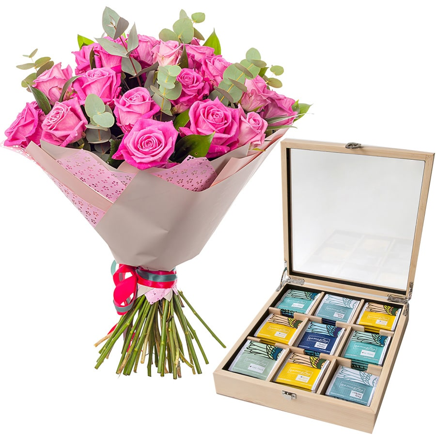 Flower Gifts - Online Flower Delivery Sharjah-Luxurious Adorable Set