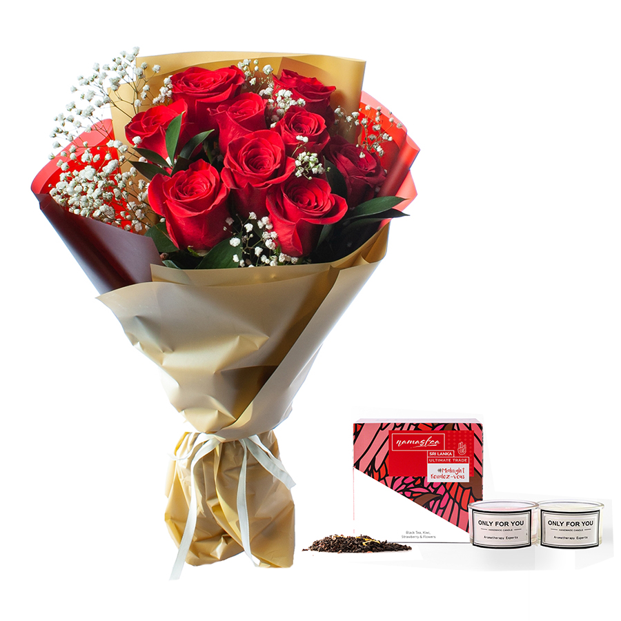 Flower Gifts - Online Flower Delivery Sharjah-Pleasant Gift Surprise