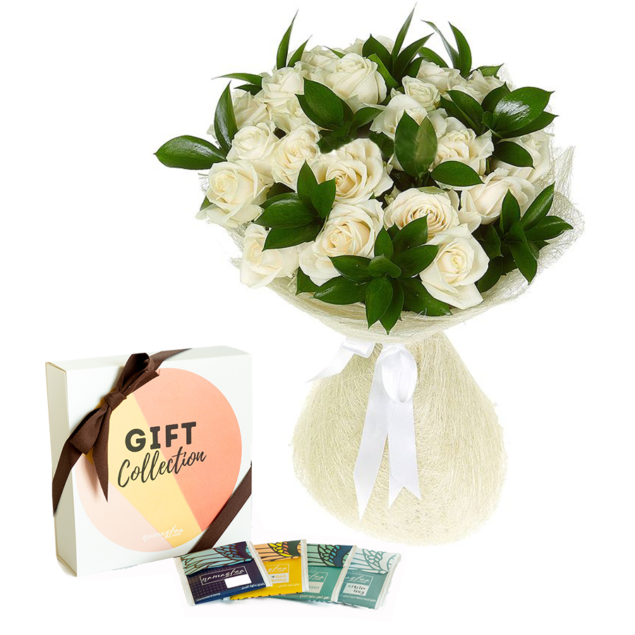 Flower Gifts - Online Flower Delivery Sharjah-Classic Flowers & Classic Tea