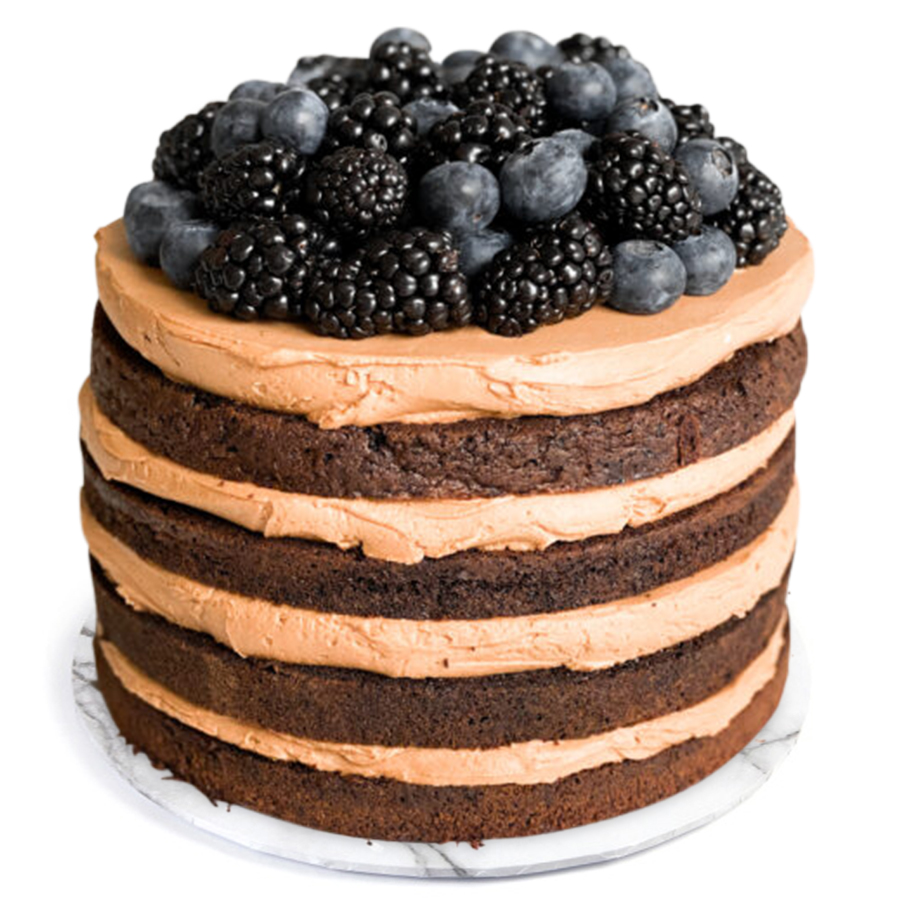 Chocolate Berry Delight Cake