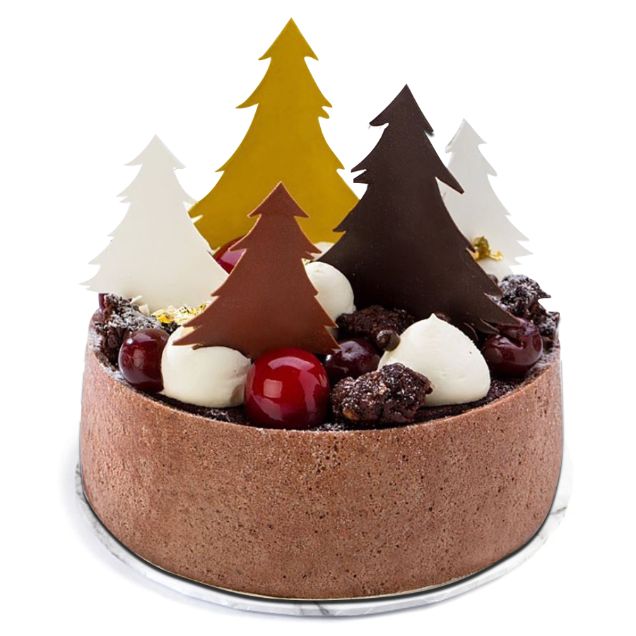 Black Forest with Trees