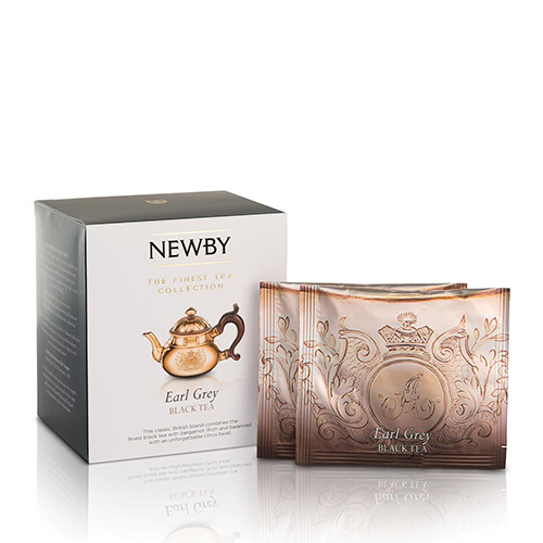 Personalized Gifts in Dubai and all over UAE - Newby Earl Grey Silken Pyramids