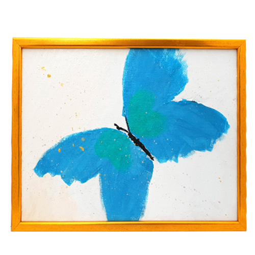 Charming Butterfly Painting