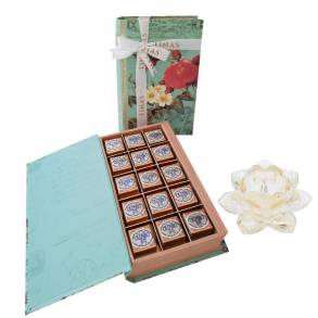 Book of Cappuccino Chocolates & Lotus