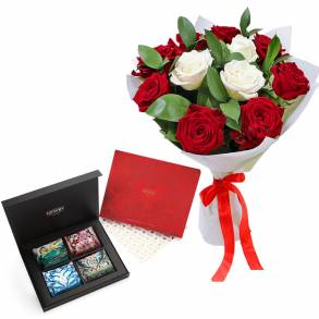 Wedding Gifts in Dubai-Luxury Tea & Roses with Love