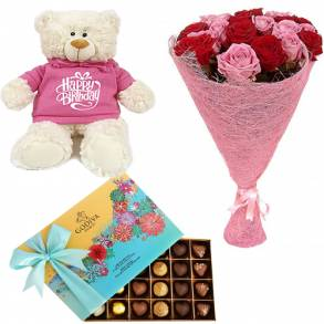 Flower Gifts - Online Flower Delivery Sharjah-Cheerful Day Wishes