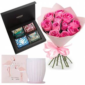Flower Gifts - Online Flower Delivery Sharjah-Premium Newby & Peppermint Grove & Flowers
