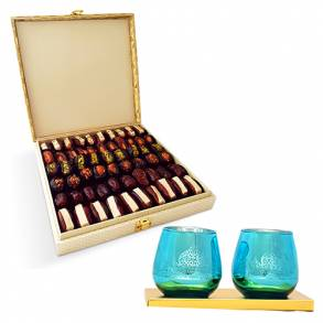 Birthday Gifts – Dubaiand all over UAE-Premium date assortment &  Festive Candle Holder