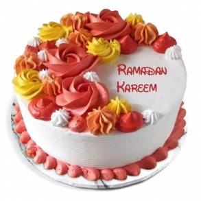 Online Cake and Flower Delivery in Dubai-Pistachio& Wonderful Flowers Cake