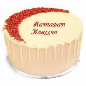 Online Cake and Flower Delivery in Dubai-Crescent Red Velvet Cake