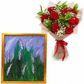 Lavender Day Gift Surprise